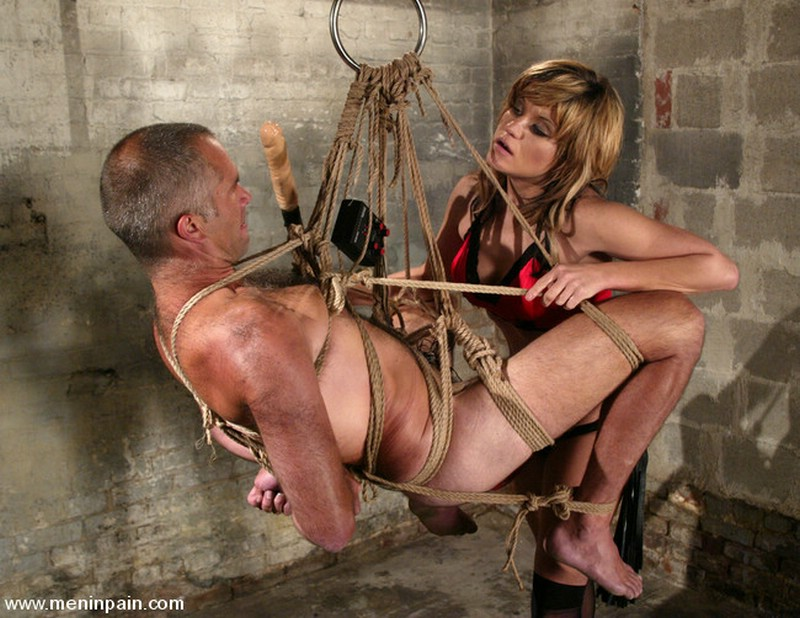 Likes stimulate Male bondage experience
